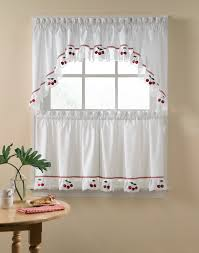 country kitchen valances curtains walmart make waves tailored 52in