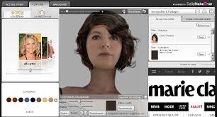 comment choisir sa coupe de cheveux logiciel de relooking gratuit coiffure maquillage