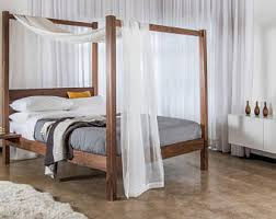 Forest Canopy Bed Four Poster Bed Etsy