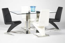 rectangular glass top dining room tables dining tables luxury contemporary glass dining room tables on