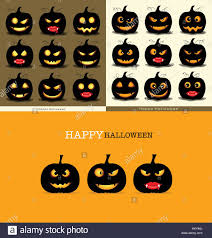 happy halloween background with halloween pumpkin vector stock