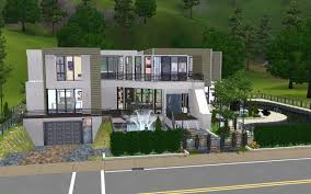 mod the sims 2400 pinochle drive modern luxury home