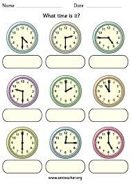 clock face with minutes printable worksheets collection of