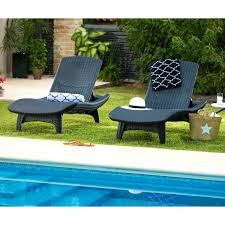 Patio Chaise Lounge Articles With Outdoor Wicker Chaise Lounge Set Tag Fascinating