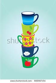 Beautiful Coffee Cup Of Coffee Beautiful Stock Vectors Images U0026 Vector Art