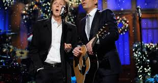 Snl Do It In My Twin Bed Paul Mccartney Makes Merry With Fallon And Timberlake On U0027snl