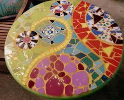 Mosaic Table L Ma Table En Mosaïque Malheureusement Je Ne L Ai Plus Aujourd