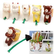 Home Decor Ebay by Cute Ceramic Animal Planter Plant Pot Drinking Tail Self Watering