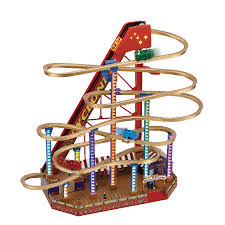 mr christmas mr christmas 79751 mr christmas world s fair grand roller coaster