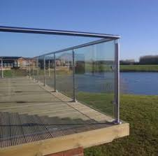 details about bespoke stainless steel patio glass balustrade