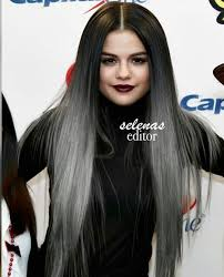 black grey hair long black grey hair images on favim com