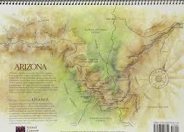 Grand Canyon Arizona Map by Arizona Highways 2017 Grand Canyon Calendar Arizona Highways
