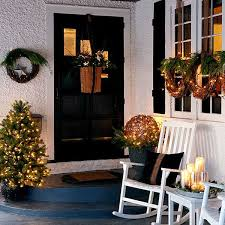 Christmas Decoration For Front Door by 40 Cool Diy Decorating Ideas For Christmas Front Porch Amazing