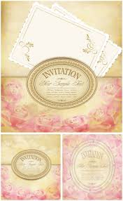 Vintage Invitation Cards Invitation Vector Graphics Blog Page 13