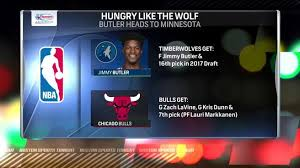 chicago bulls trade jimmy butler to minnesota timberwolves in