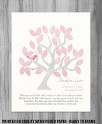 dedication gift baby baptism canvas print blessing quote