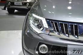 mitsubishi triton 2014 2015 mitsubishi triton headlamp left at the 2014 thailand