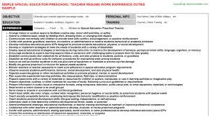 special education preschool teacher job title docs