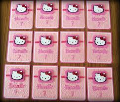 Hello Kitty Invitation Cards Jingvitations Pink Hello Kitty Card