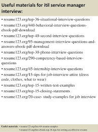 Restaurant Assistant Manager Resume Sample by Top 8 Itil Service Manager Resume Samples