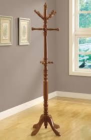amazon com monarch specialties traditional solid wood coat rack
