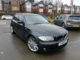 black bmw 1 series 2007 bmw 1 series 120d m sport manual 5 door black f s h mot