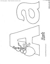 alphabet coloring pages upper and lowercase letter p coloring