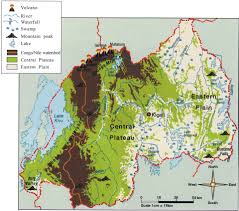 Definition Of Physical Map Does The Global Warming Modify The Local Rwandan Climate