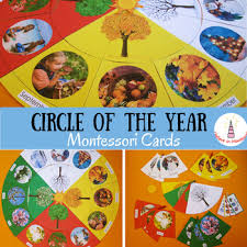 circle of the year montessori cards slovak version by i believe