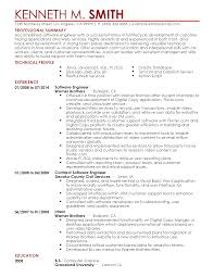 resume examples professional summary professional software engineer templates to showcase your talent resume templates software engineer kenneth m smith professional summary