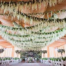 Ceiling Draping For Weddings Diy Best 25 Hanging Flowers Wedding Ideas On Pinterest Hanging