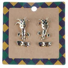 mardi gras earrings shop mardi gras accessories stella saksa