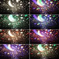 Rotating Night Light Projector Night Light Sky Moon Star Master Projector Dream Rotating