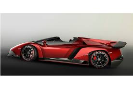 Lamborghini Veneno Back View - lamborghini veneno roadster uncovered