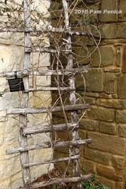 easy pea trellis garden driftwood trellis could even make with just regular