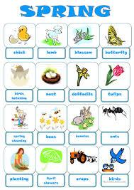 76 free esl spring worksheets