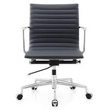 white leather desk chair meelano aniline leather office chair reviews wayfair
