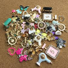 bracelet charms diy images 50pcs assorted designs enamel jewelry charms diy bracelet necklace jpg