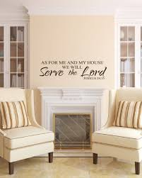 joshua 24 15 scripture wall vinyl bible verse as for me and zoom