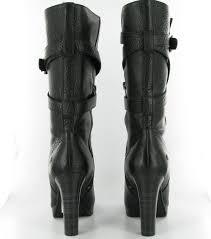 ugg s jardin boot ugg jardin heeled calf boots in black