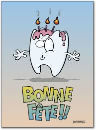 tooth candles deluxe birthday folding card benco