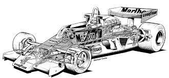 mclaren drawing 1976 1978 mclaren m26 illustration by graham cooke cutaway