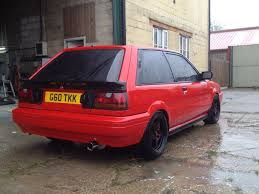 old nissan coupe nissan sunny zx gti 16v japanese old classic in driffield
