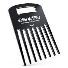 vintage comb billet aluminum beard comb vintage black willies