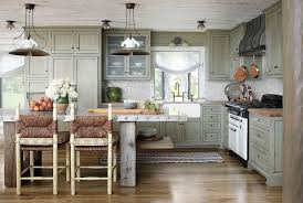 kitchen central island kitchens rustic kitchen with a cool metallic central island
