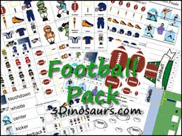 the good dinosaur free printables teachable mommy free football pack 3 dinosaurs