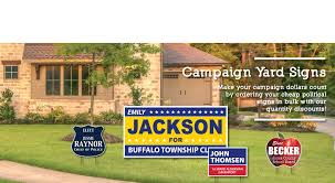 campaign yard signs cheap team signs same day signs u0026 yard decor