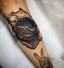 tattoo compass hand 100 awesome compass tattoo designs art and design