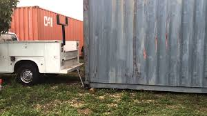 will a 2500 pick up move a 4 ton shipping container youtube