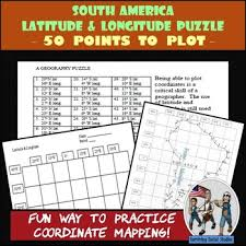 latitude and longitude teaching resources teachers pay teachers